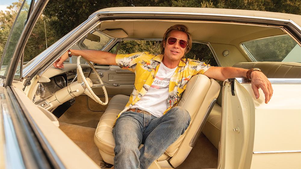 Brad Pitt en la película Once Upon a Time in Hollywod