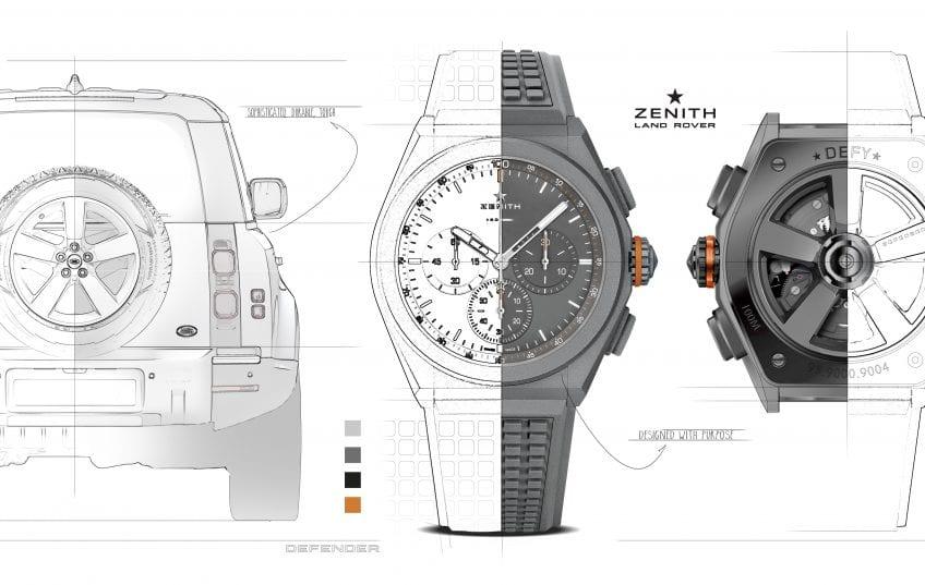 Zenith y Land Rover